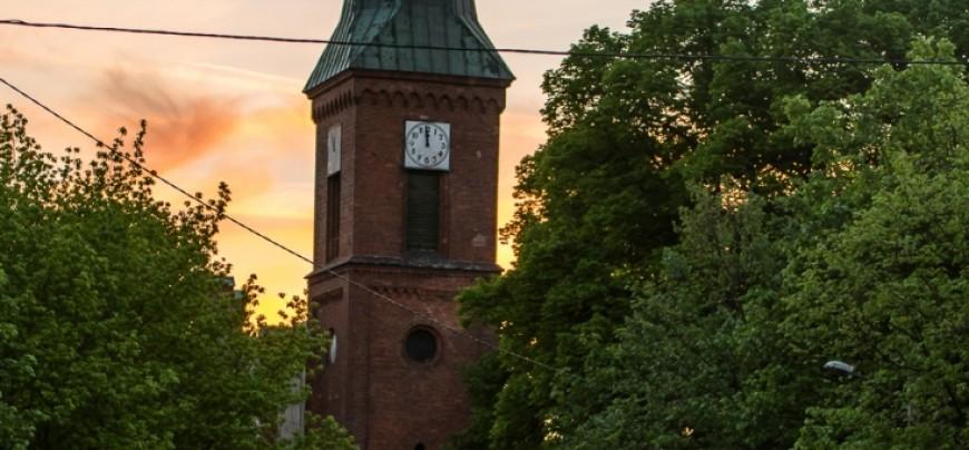 panorama kościoła w Podjuchach...(foto. Pan Reszke)